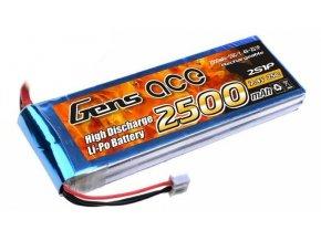 Baterie Gens Ace Tatto: 2500mAh 11.1V 25C Gens Ace