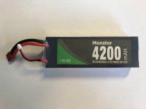 Baterie LI-PO 7,4V 4200mAh