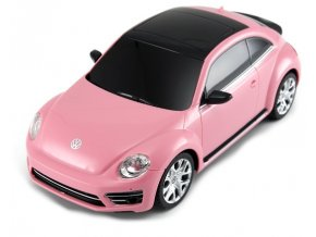 Rastar: Volkswagen Beetle 1:24 RTR- růžový