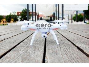 Syma X5HW 2,4 Ghz S WiFi kamerou a barometrickým výškoměrem bíla+ 50 minut letu