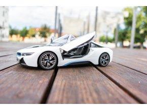 RC AUTO BMW I8 BÍLE