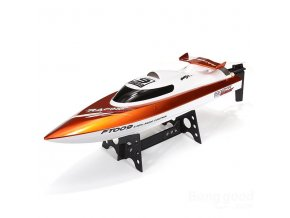 Závodní sportovní člun FT009 oranžová