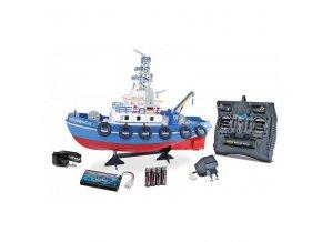 hasičská lod s vodným delom