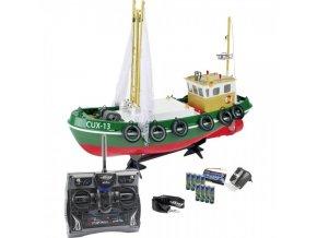 rybárska loď carson