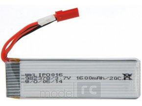 Náhradní baterie pro RC drone 3,7V 1600mAh / 20C