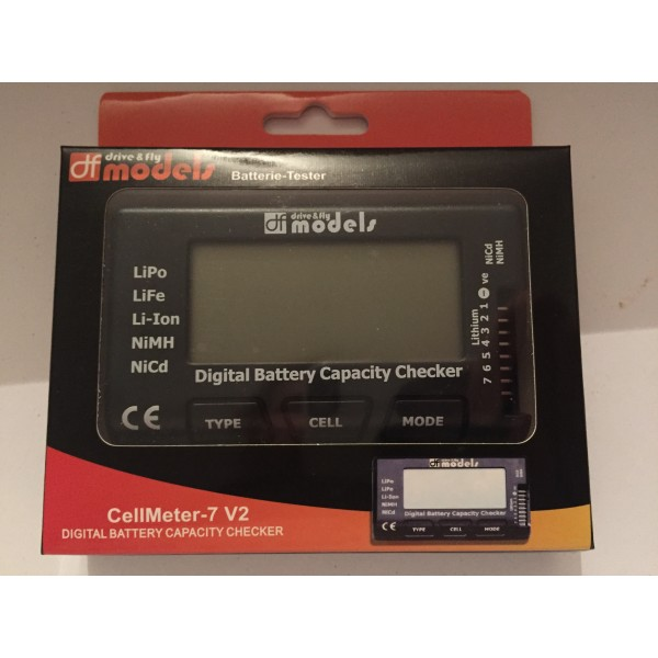 Digitalní měřič všech typů akumulátorů