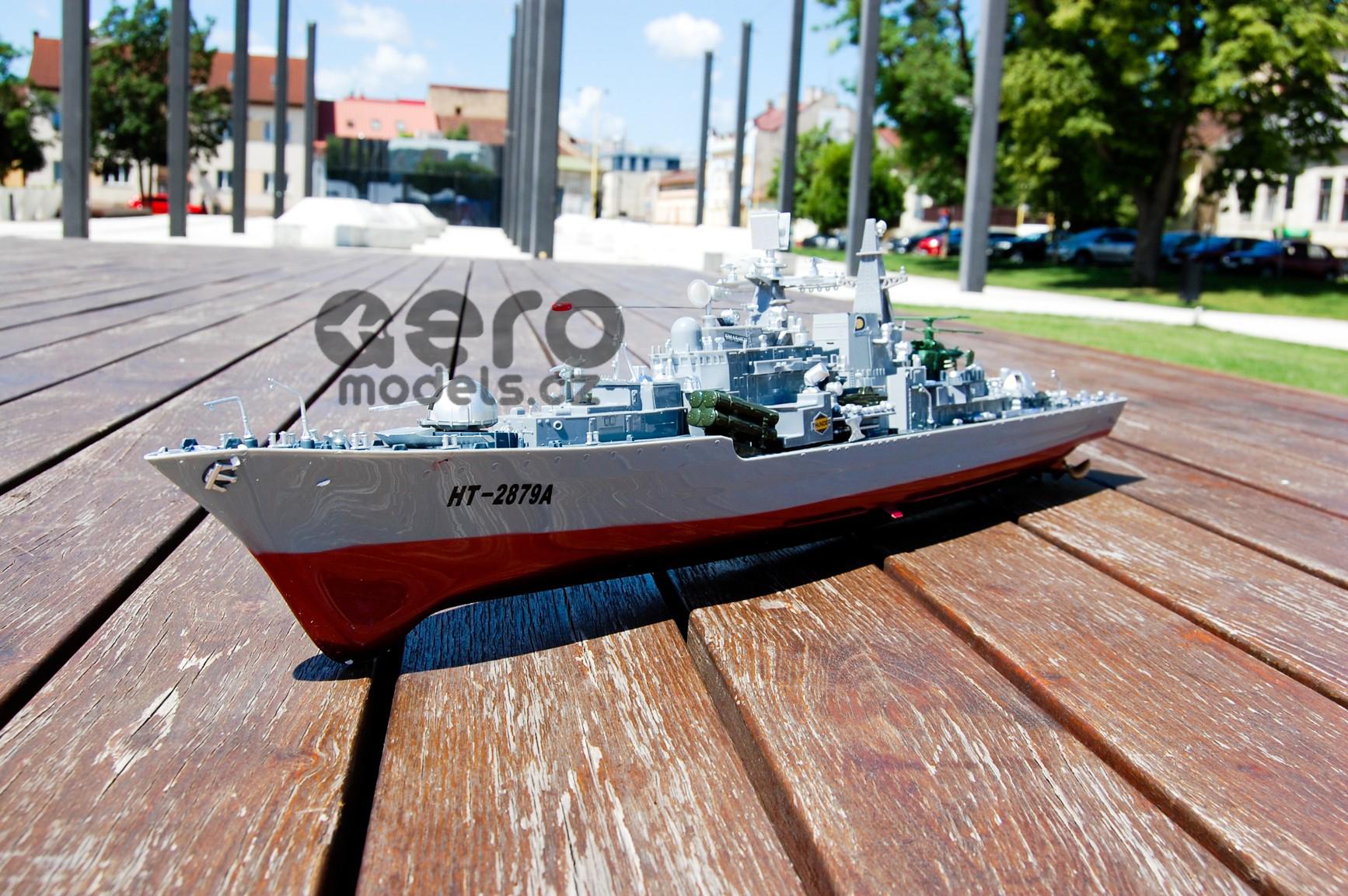 RC modely, RC vrtulníky, RC auta, na dálkové ovládání- RC LOĎ TPC: RUSKÝ torpédoborec SOVREMENNYE 95