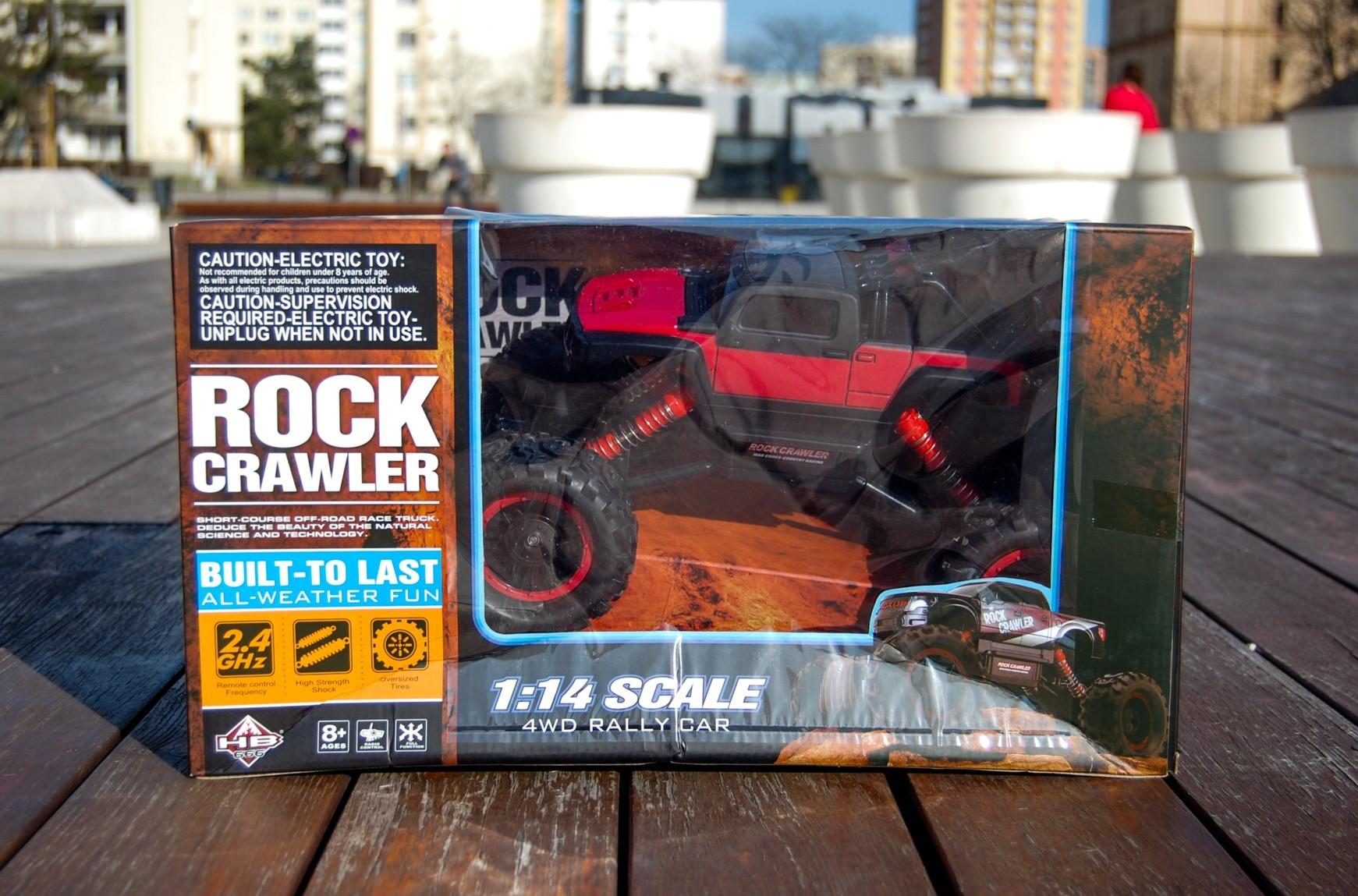 MAISTO RC Auto Rock Crawler 81152 na dálkové ovládání