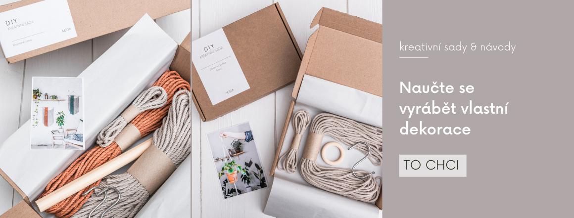 DIY kreativní sady a návody na výrobu