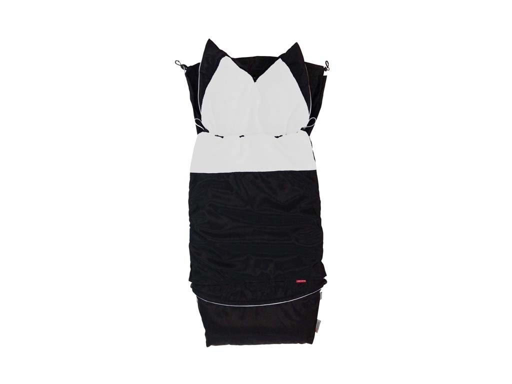 Fusak CITY 3v1 univerzální - Klasik  - černá - bílá