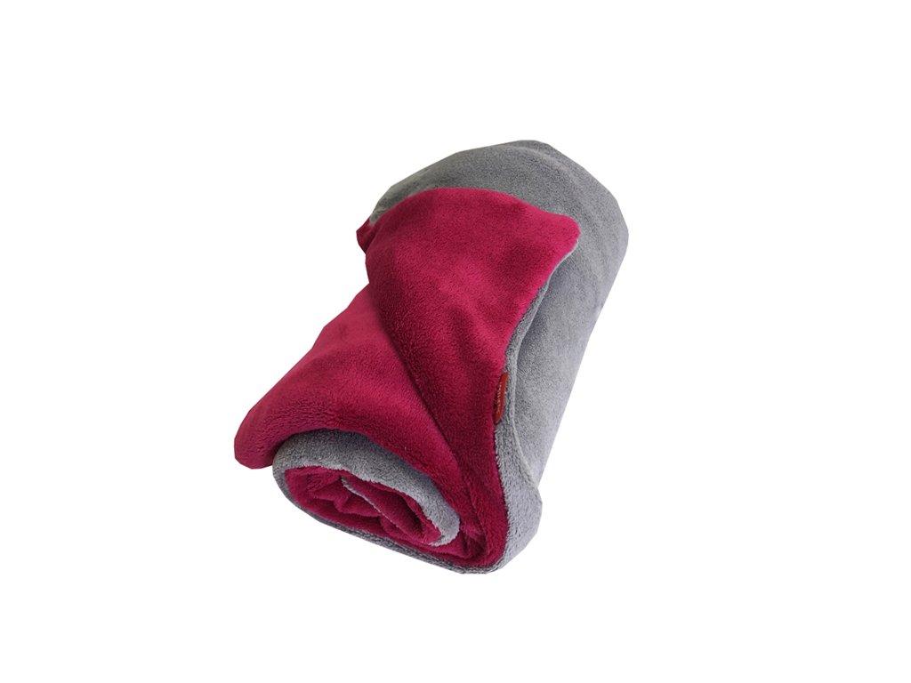 aesthetic deka mikroplys seda stredni cervena 640