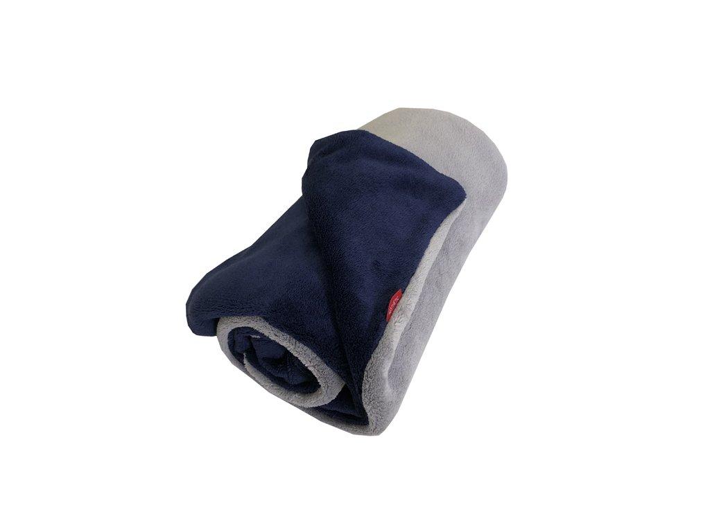 aesthetic deka mikroplys seda stredni modra tmava 640