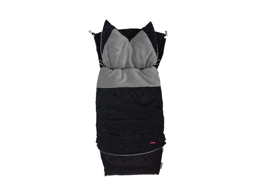 Fusak CITY 3v1 univerzální - Klasik- černá - šedá střední