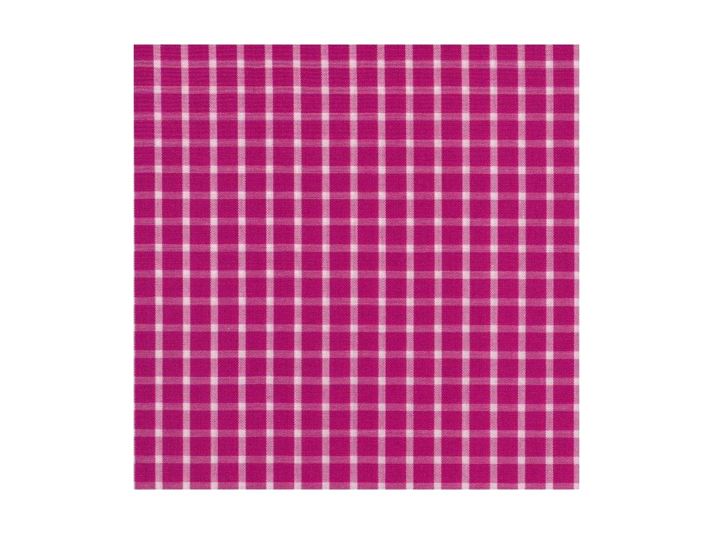 Plátno - kostička velká růžová sytá