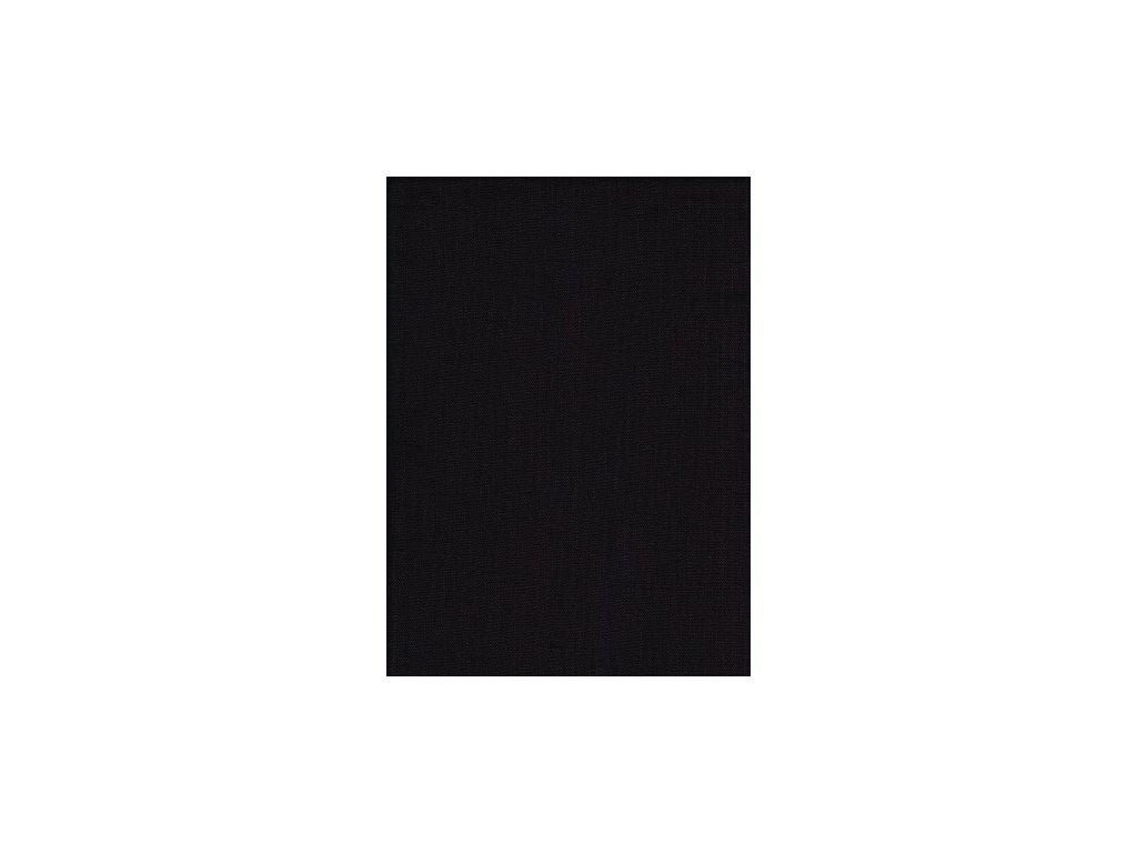 Len se zátěrem - černá