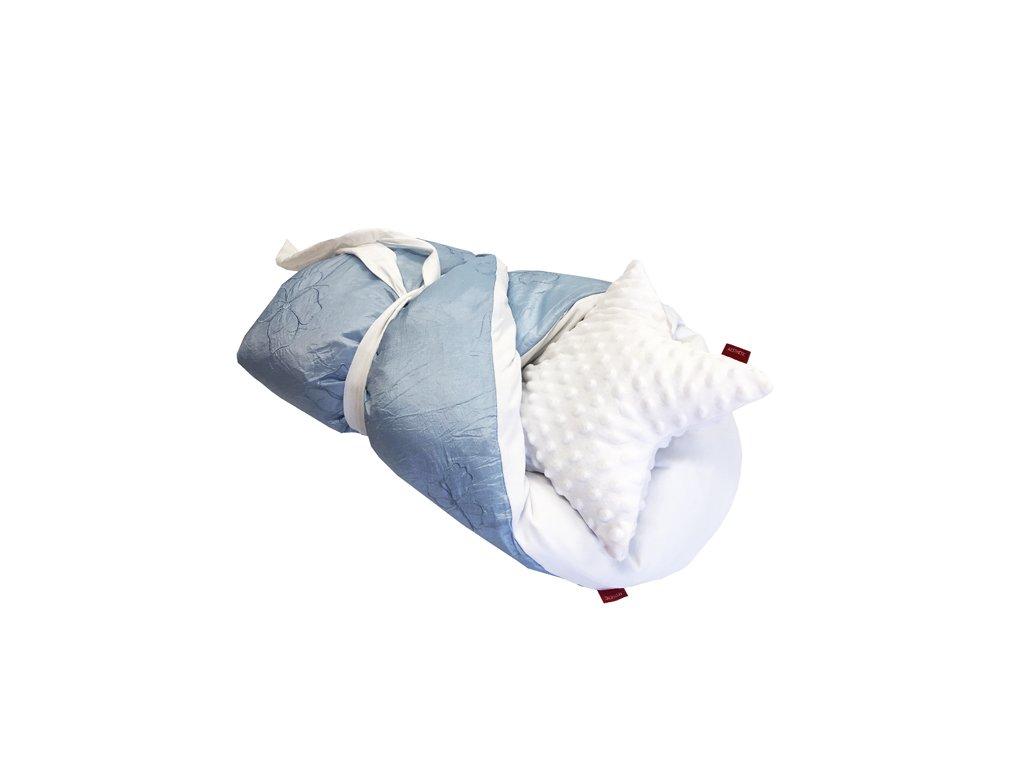 aesthetic rychlozavinovacka perova saten modry 640