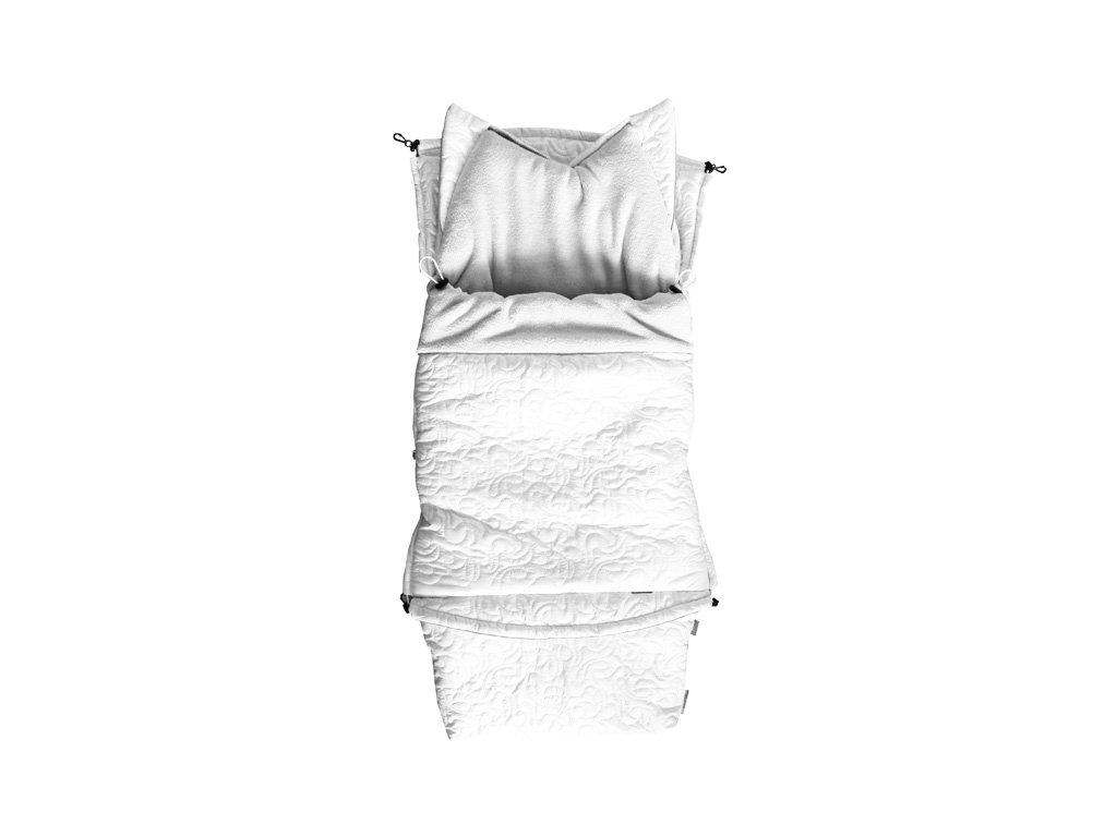 Fusak city 3v1 univerzální - Exklusive - bílá - bílá