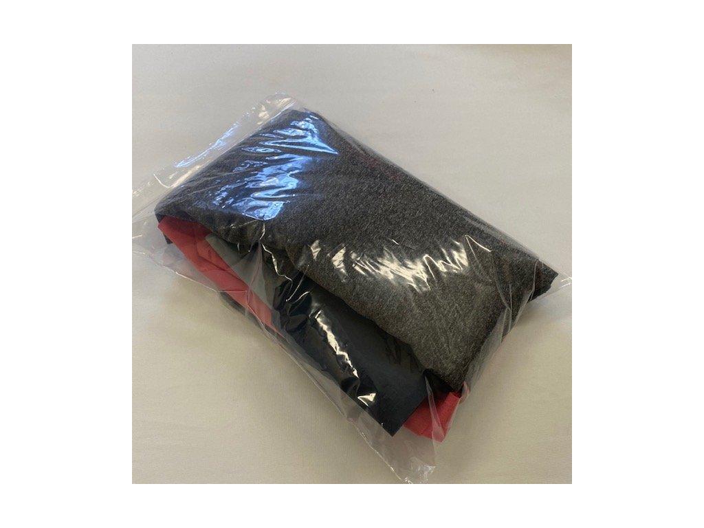 Zbytky látek 0,5 kg (barevný mix)   Softshell