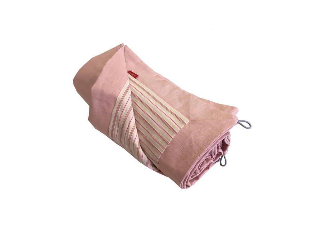 aesthetic deka piknikova len ruzova smetanova 640