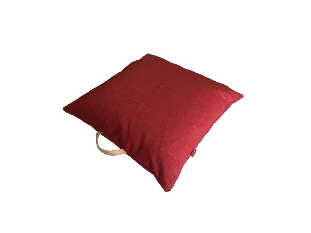 aesthetic povlak polstar len kuze cervena 640