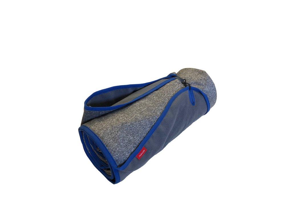 aesthetic deka piknikova softshell melange lem modra 640