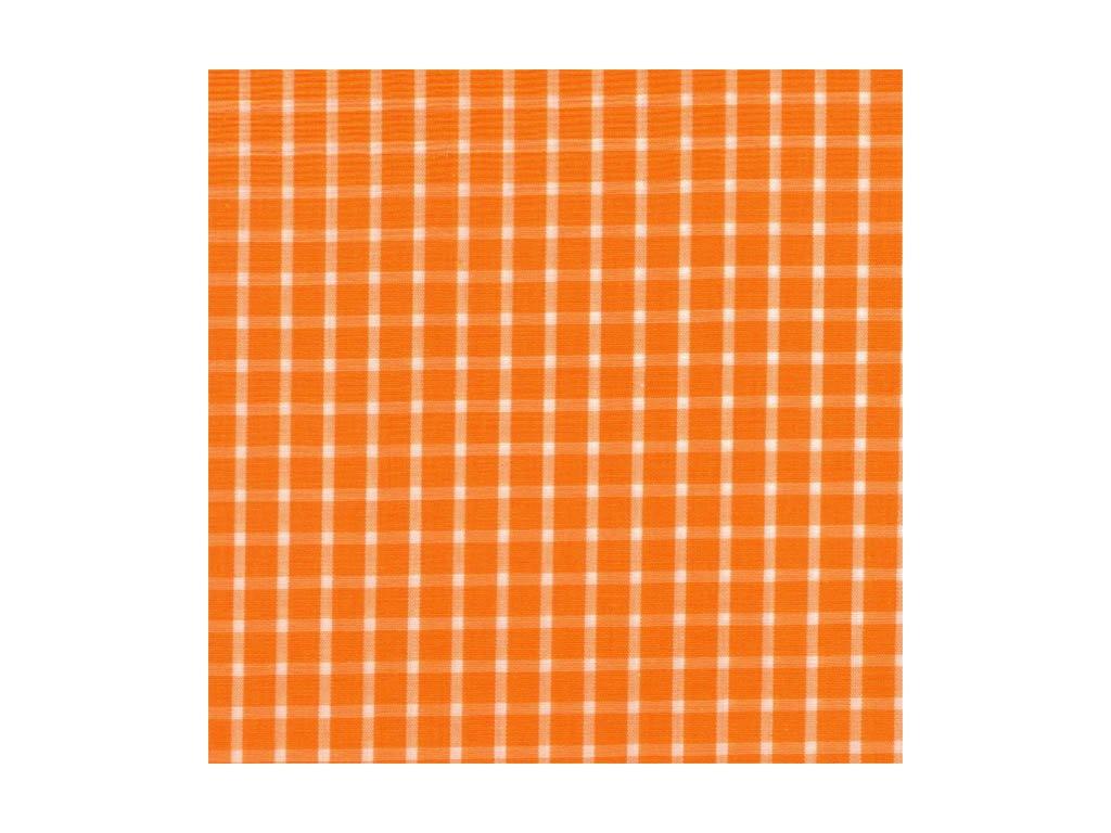Plátno - kostička velká oranžová 150x380cm