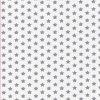 Bavlněné povlečení - STAR šedá na bílé
