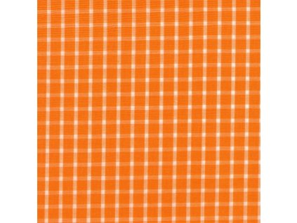 Plátno - kostička velká oranžová