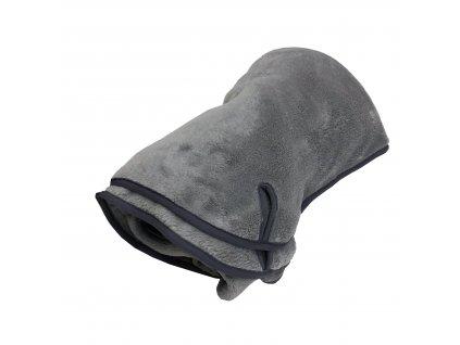 Deka na cesty -  šedá střední - 100x140cm
