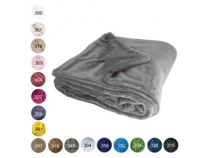 deka oboustranna jednobarevna mix 640