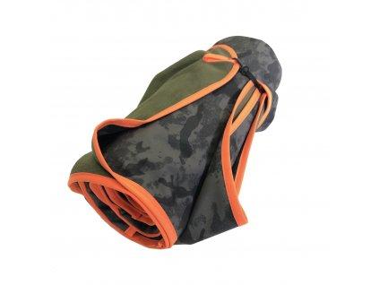 aesthetic deka softshell army oranzova
