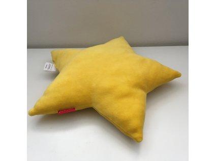 Polštář Hvězda žlutá