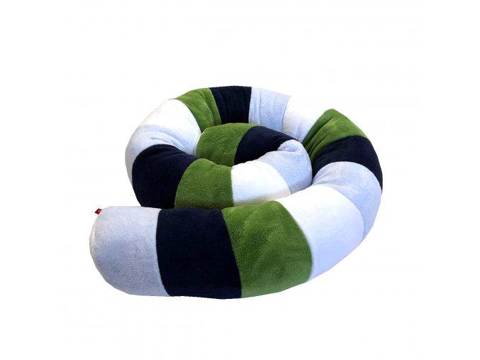 Víceúčelový Válec multicolor - modrá přímá, modrá mořská