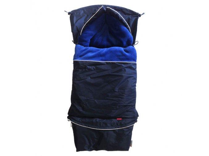 Fusak CITY 3v1 univerzální - Klasik - černá - modrá přímá