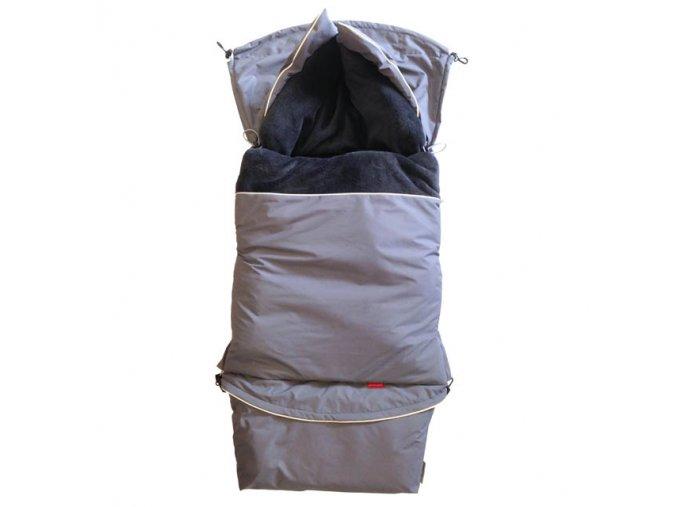 Fusak CITY 3v1 univerzální - Klasik - šedá střední - šedá titanová
