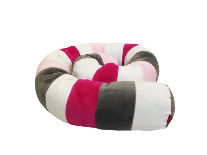 Víceúčelový Válec - bílá, růžová střední, malinová, šedá střední