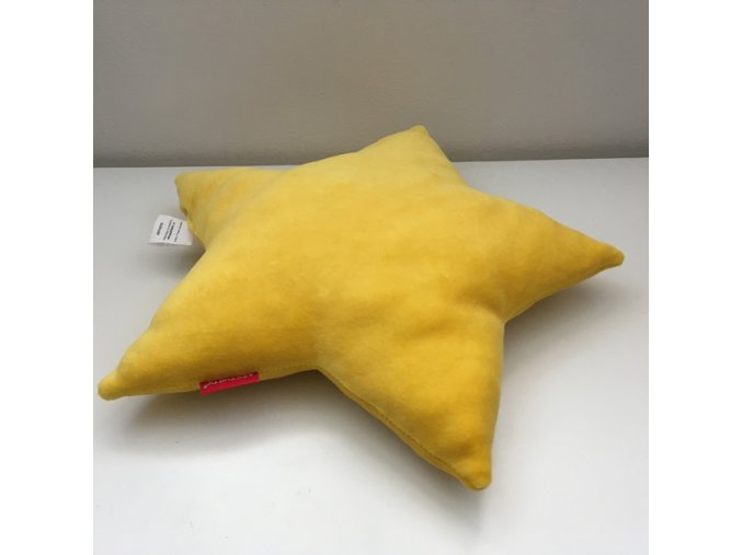 Polštářek Hvězda žlutá