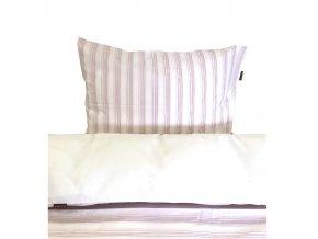 AKCE - Povlečení dětské - proužek růžový - CZ90x130, 45x60 cm