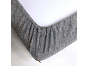 Prostěradlo do dětské postýlky - bavlněný úplet s elastanem 70x140 cm, MIX barev