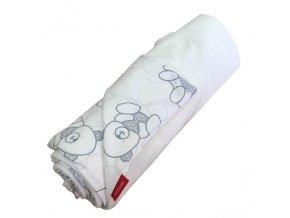 aesthetic deka na kocarek letni bavlna bila medvidek 640