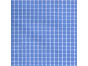 Plátno - kostička velká modrá mořská