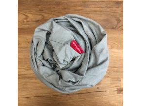 AKCE  - Prostěradlo do dětské postýlky - hnědo šedá - bavlněný úplet s elastanem 60x120 cm, MIX barev