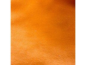 Mikrofleece - oranžová