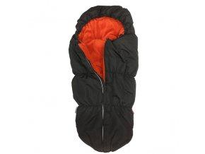 Fusak OUTDOOR (MUMIE) - černá - oranžová