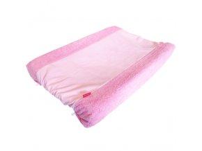 Povlak na přebalovací podložku -růžová 50x70 cm