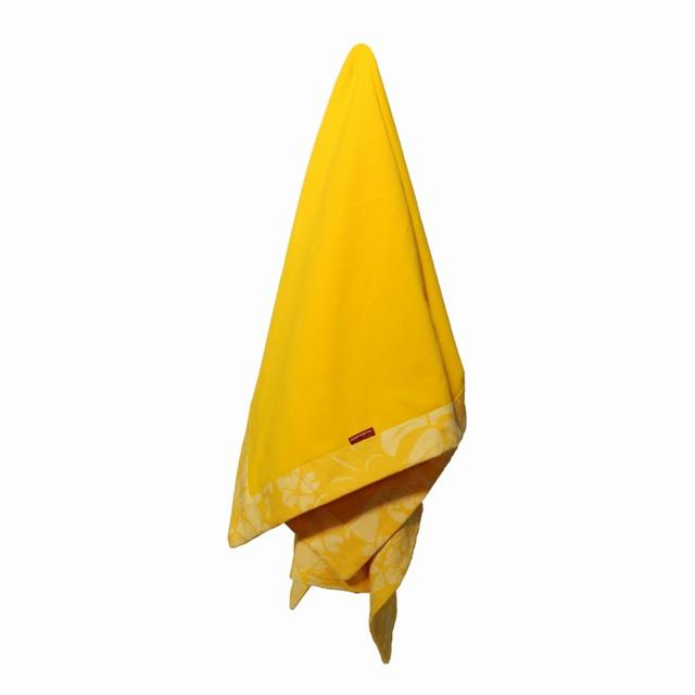 Deka dětská letní celobavlněná Hawai žlutá 80x120cm