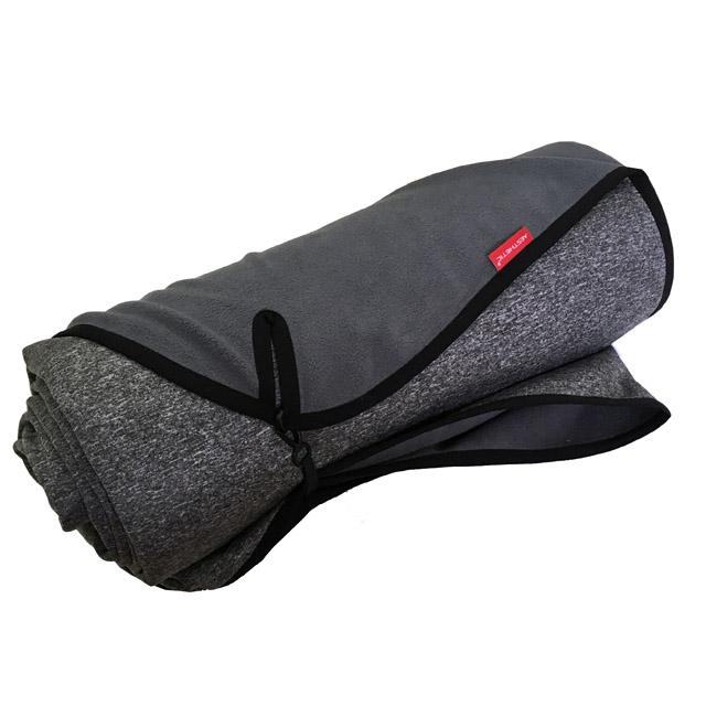 Softshellová pikniková deka - šedá melange - 150x150 cm, 150x200 cm Rozměr: 150x150 cm