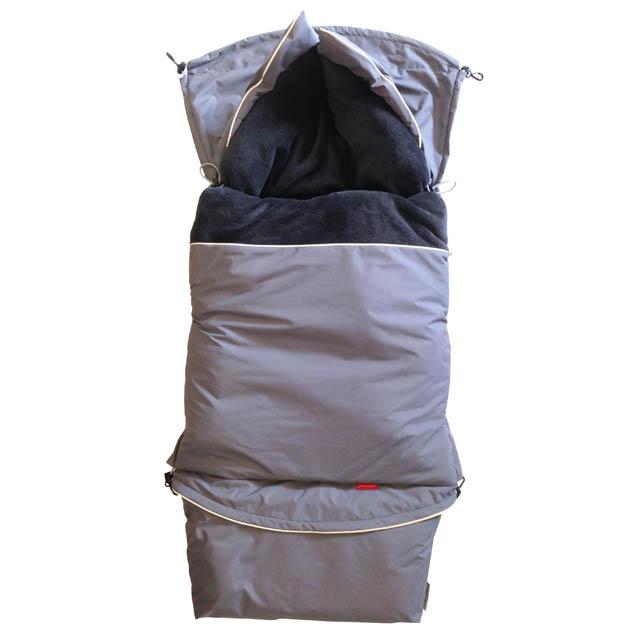 Fusak CITY combi 3v1 - šedá střední sport - šedá titanová