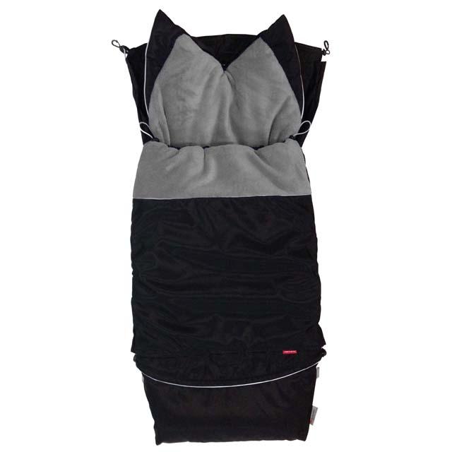 Fusak CITY combi 3v1 - černý sport - šedá střední