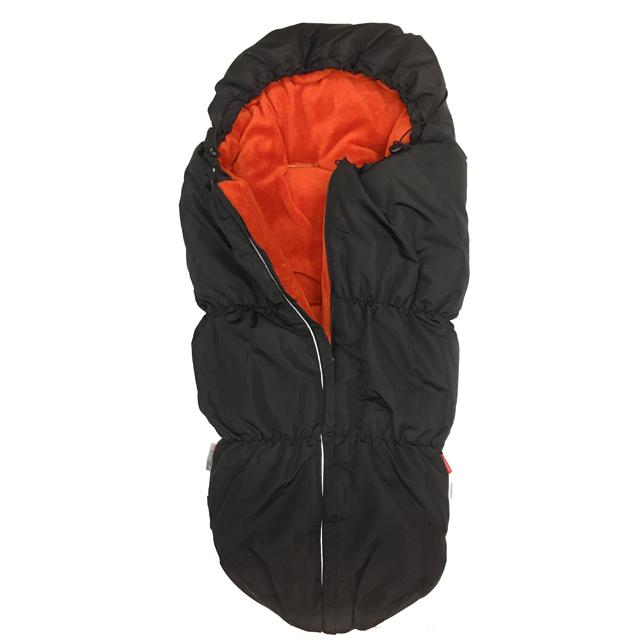 Fusak OUTDOOR - černá sport - oranžová